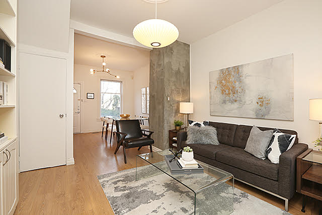 Just in time for the holidays. Awesome 2 bed in Toronto's smoking hot South Riverdale.